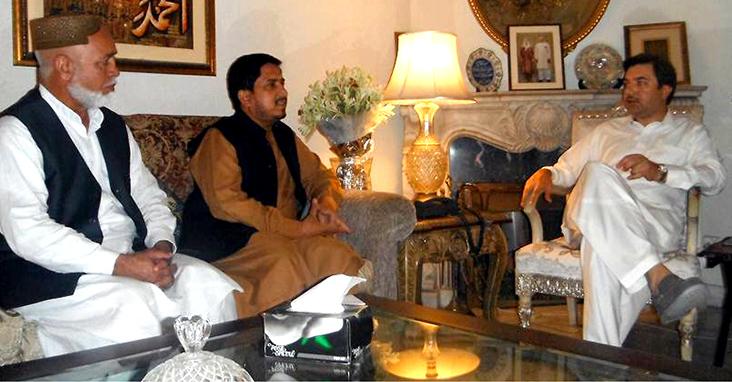 عوامی تحریک کے وفد کی سیاسی جماعتوں کے رہنماؤں سے ملاقاتیں، تحریک قصاص میں شرکت کی دعوت