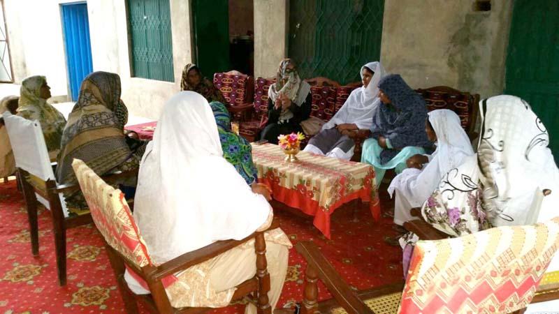 جہلم: منہاج ویمن لیگ کی 'تحریکِ قصاص' عوامی رابطہ مہم