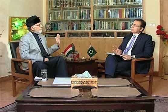 انٹرویو: ڈاکٹر طاہرالقادری (ٹونائٹ ود معید پیرزادہ) دنیا نیوز