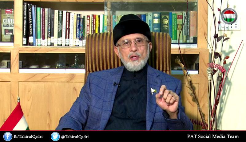 ڈاکٹر طاہرالقادری کا ملک گیر 100شہروں میں دھرنے کا اعلان