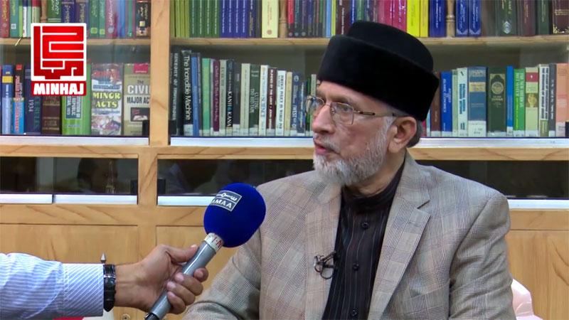 حکمرانوں نے قصاص کا قانون تبدیل کرنے کا ڈرافٹ تیار کر لیا: ڈاکٹر طاہرالقادری کی سما ٹی وی سے گفتگو