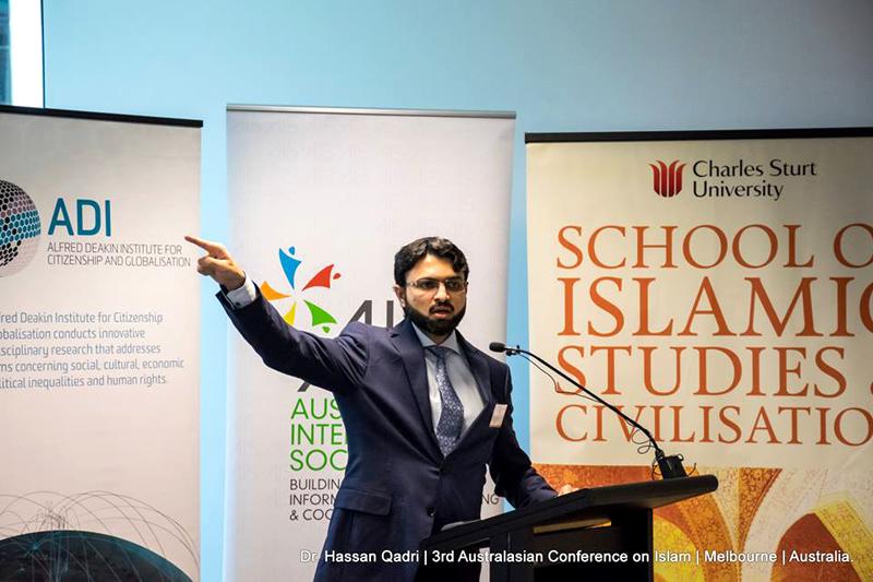 Australia: Dr Hassan Mohi-ud-Din Qadri addresses 3rd Australian Conference on Islam