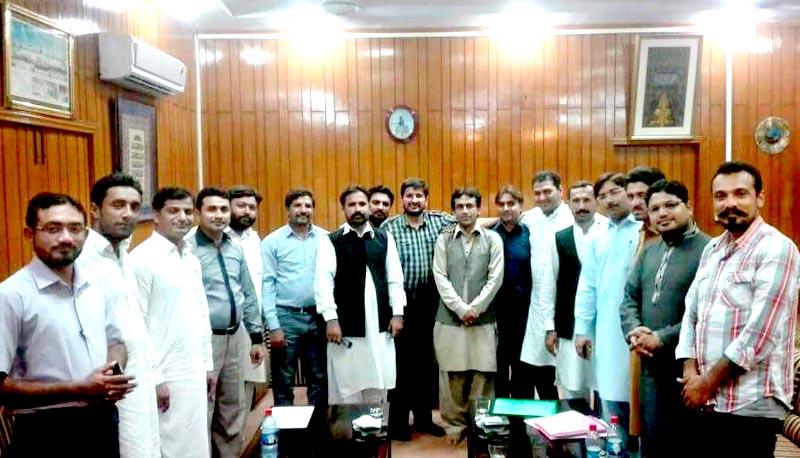 منہاج القرآن یوتھ لیگ کی سنڑل ایگزیکٹو باڈی کا اجلاس