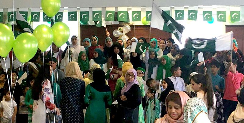 MWL Tinsley celebrates Pakistan Independence Day