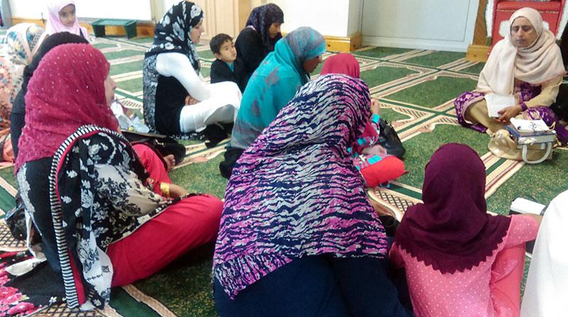 MWL Alum Rock (Birmingham) holds Eid Millan Party
