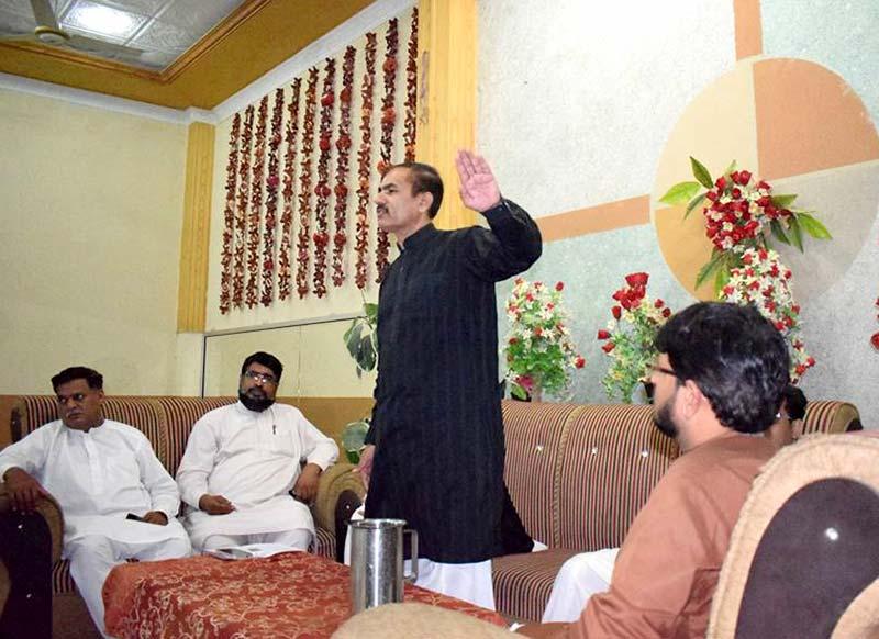 کھڈیاں: منہاج القرآن کے 36 ویں یوم تاسیس کی تقریب