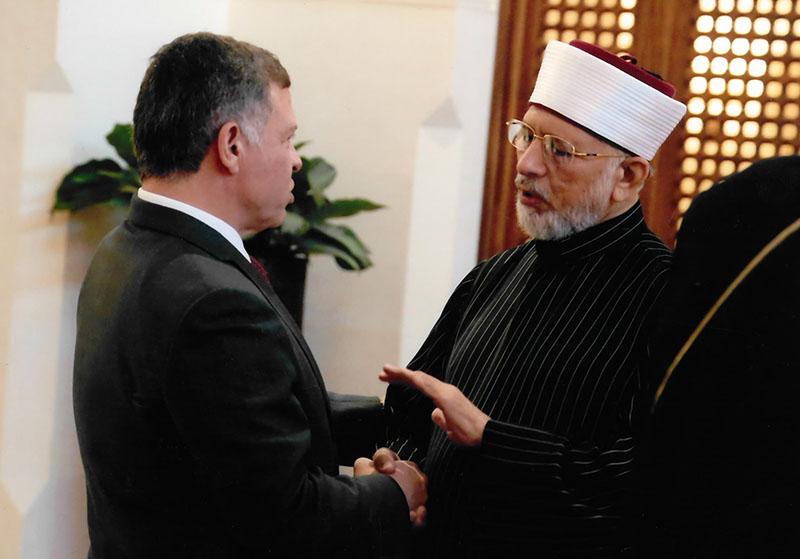 اردن: شاہ عبداللہ دوئم اور ڈاکٹر طاہرالقادری کی ملاقات