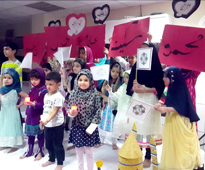 سپین: نئے اسلامی سال کے آغاز پر منہاج ویمن لیگ کا بچوں کے لیے تربیتی پروگرام