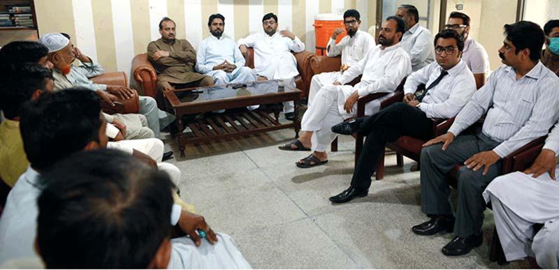 پاکستان عوامی تحریک فیصل آباد کا اجلاس