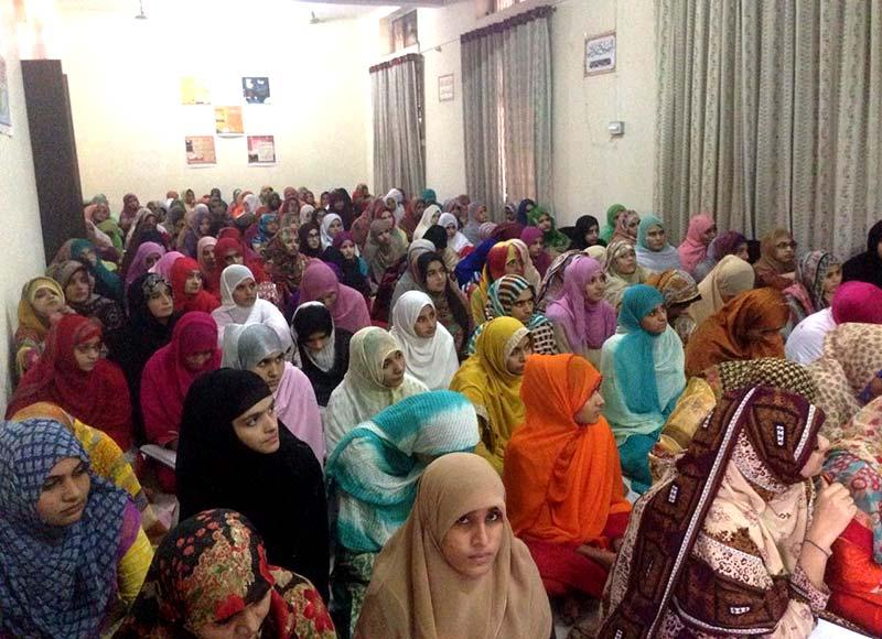 لاہور: منہاج کالج برائے خواتین میں سہ روزہ تربیتی اعتکاف