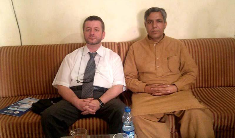 اسلام آباد: شہزاد حسین نقوی کی روس کے سینئر سفارتکار سے ملاقات