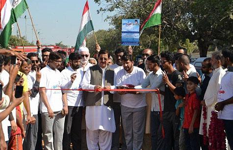PAT Youth Wing's cycle caravan kicks off from Karachi