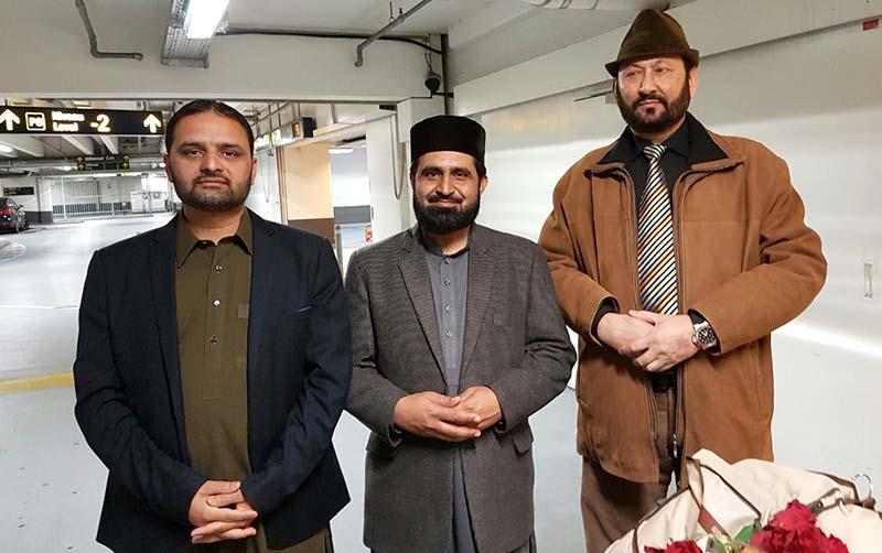 کوپن ہیگن: مفتی ارشاد حسین سعیدی ڈنمارک پہنچ گئے