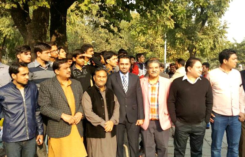 نیو ٹی وی کی بندش حق اور سچ کو دبانے کی سازش ہے: عمرریاض عباسی، غلام علی خان، قاضی شفیق
