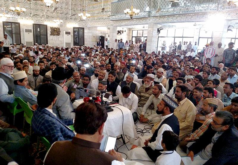 کراچی: عوامی تحریک اور منہاج القرآن کا سندھ ورکرز کنونشن