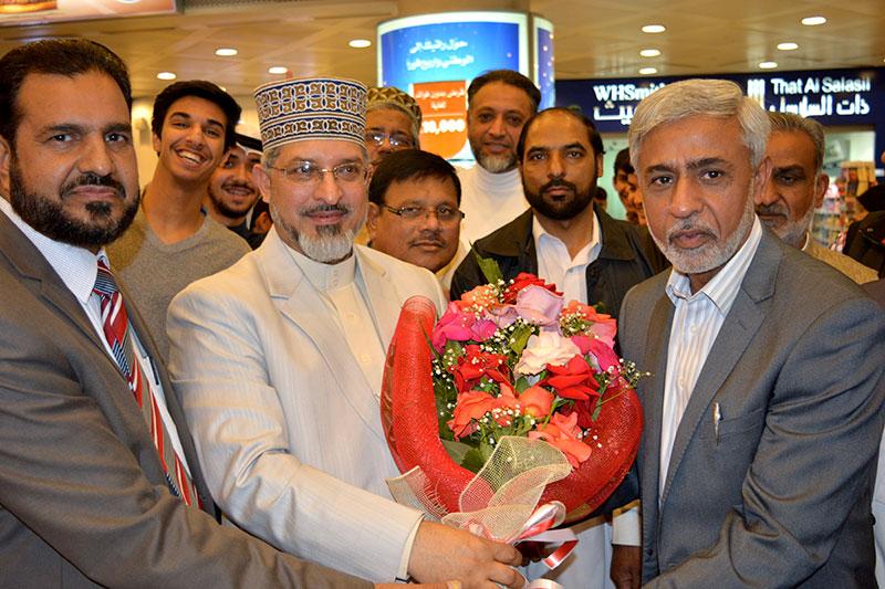 علامہ حسن میر قادری کی کویت آمد