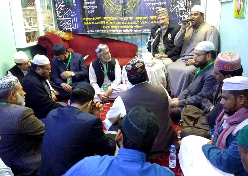 کویت: علامہ حسن میر قادری کے اعزاز میں عشائیہ