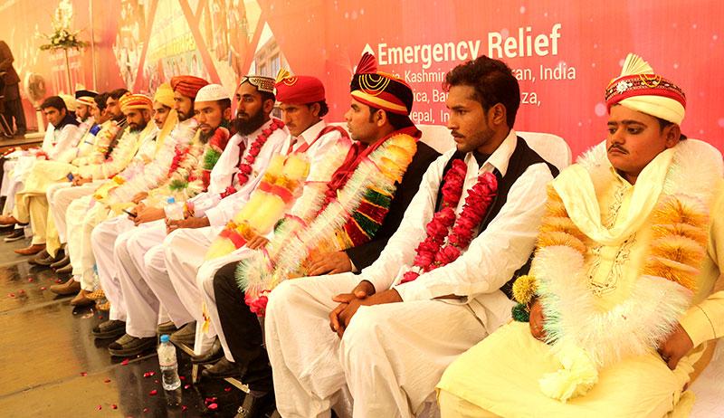 منہاج ویلفیئر فاونڈیشن کے زیراہتمام 25 شادیوں کی اجتماعی تقریب