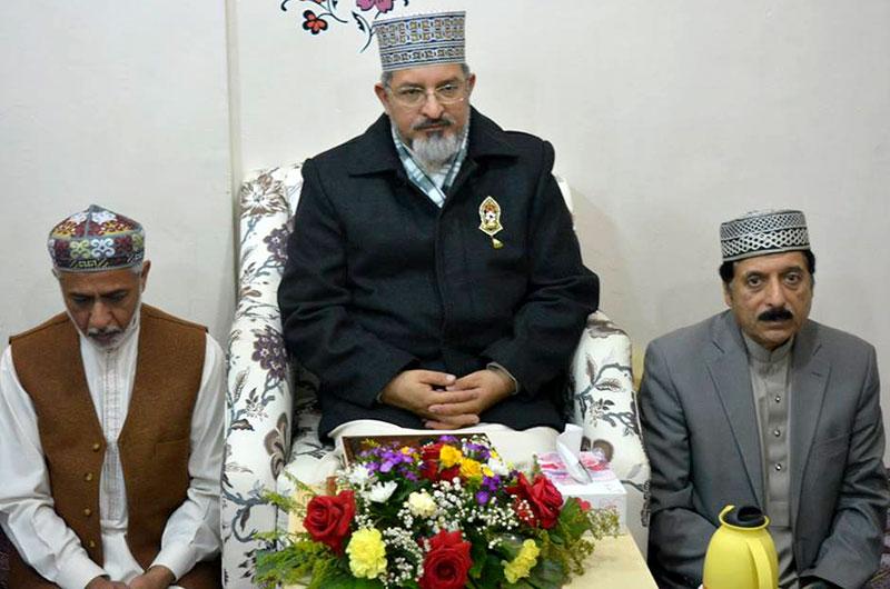 کویت: اندلس میں علامہ حسن میر قادری کے اعزاز میں عشائیہ