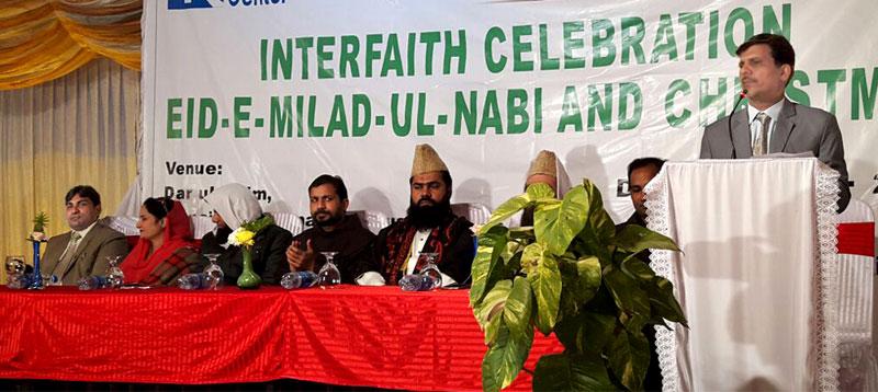 پیغمبر اسلام حضرت محمد ﷺ اور حضرت عیسیٰ علیہ السلام کے یوم ولادت کی تقریب، مسلم، مسیحی رہنماؤں کی شرکت