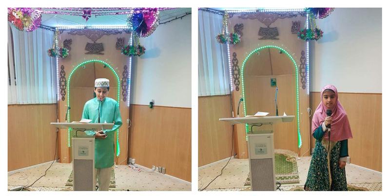ڈنمارک: منہاج اسلامک سینٹر ویلبی میں منہاج القرآن چلڈرنز کی محفل میلاد النبی  صلی اللہ علیہ وآلہ وسلم