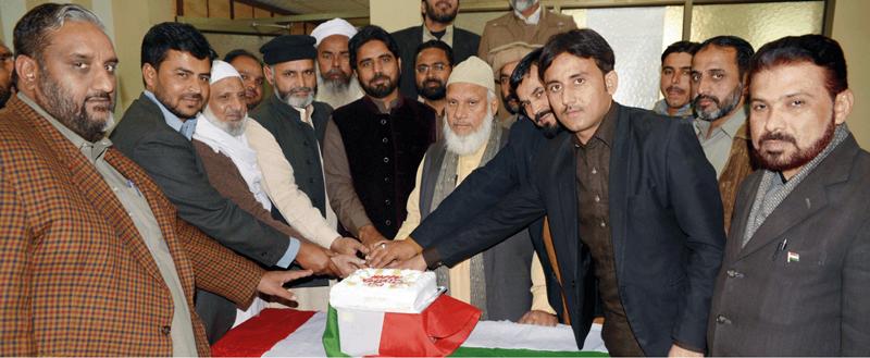 فیصل آباد: تحریک منہاج القرآن کے زیراہتمام بانئ پاکستان کی سالگرہ کی تقریب