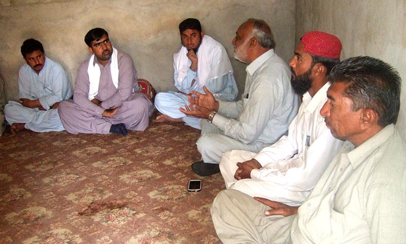 بلوچستان: منہاج القرآن تحصیل مانجھی پور کی تنظیم سازی