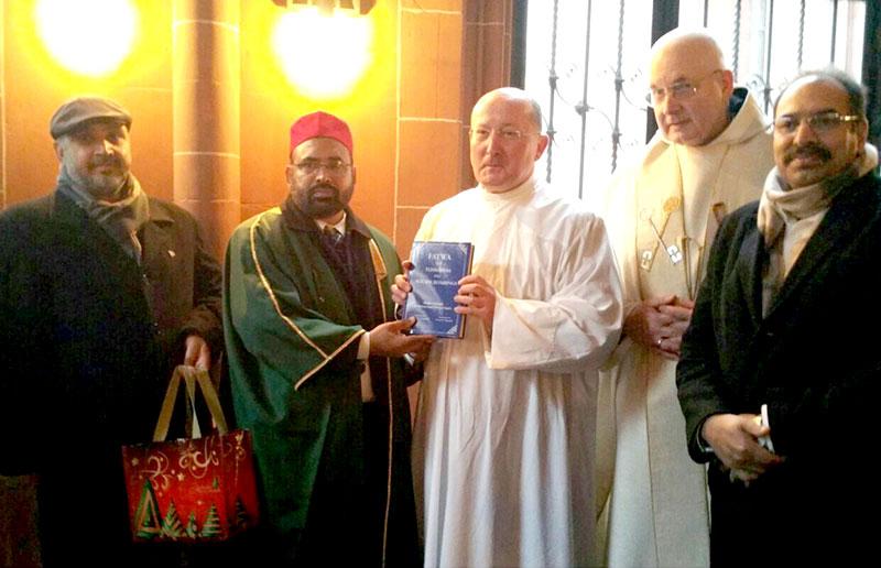 جرمنی: منہاج القرآن انٹرفیتھ ریلیشنز کے ڈائریکٹر سہیل احمد رضا کی کرسمس تقریب میں شرکت