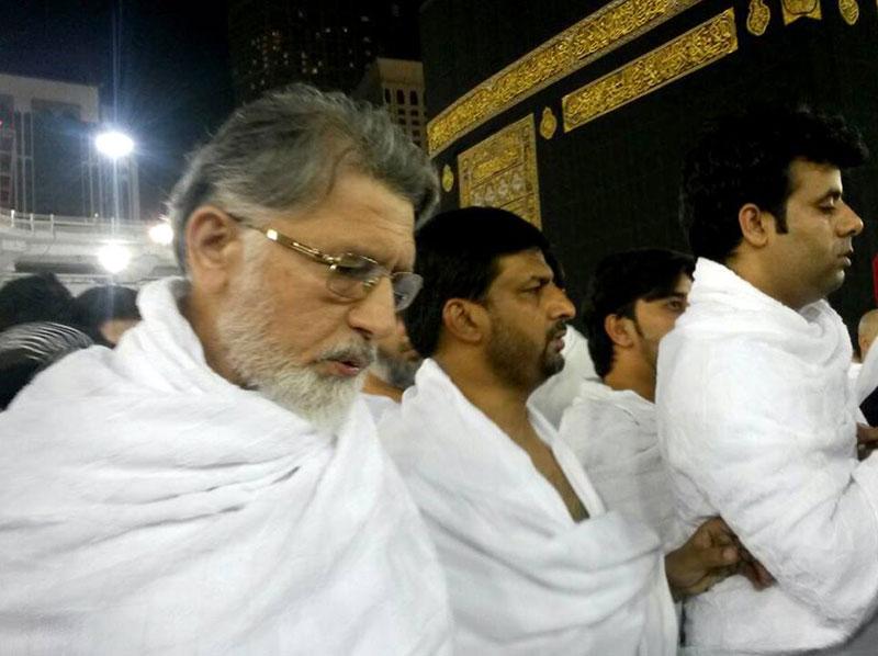 شیخ الاسلام ڈاکٹر محمد طاہرالقادری کی عمرہ ادائیگی