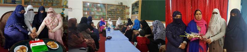 جہلم: منہاج ویمن لیگ کے ضلعی دفتر جادہ میں یوم تاسیس کی تقریب