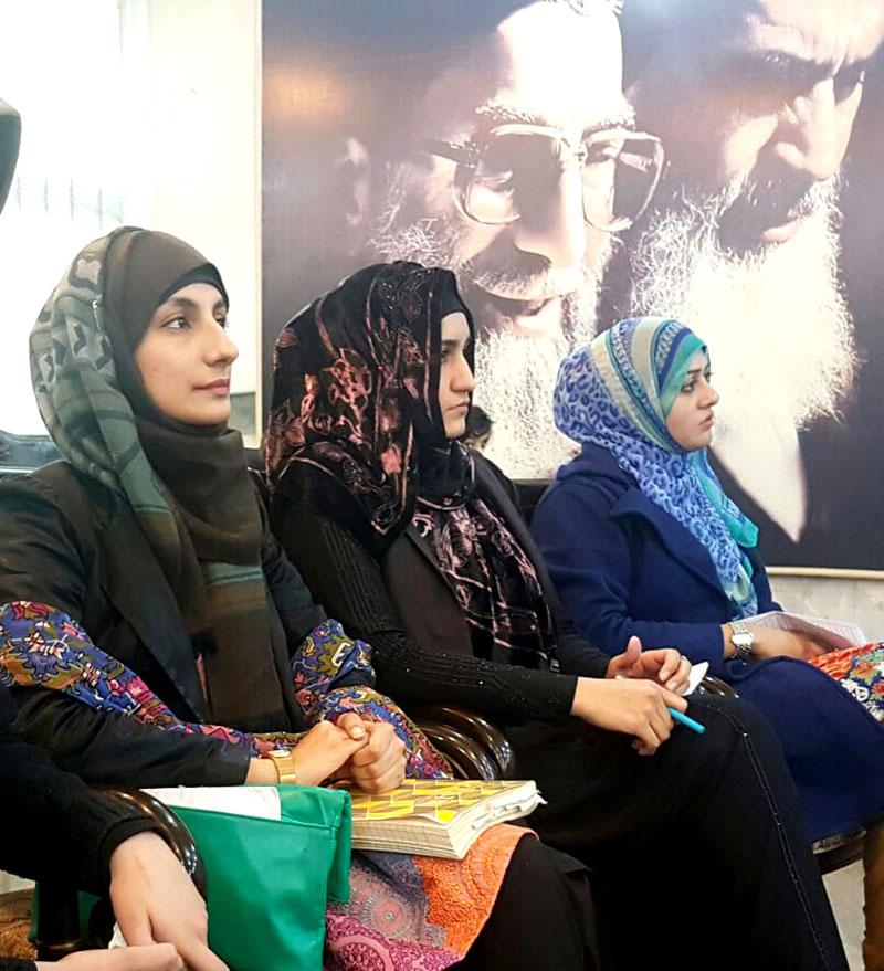 منہاج القرآن ویمن لیگ اور خانہ فرہنگ  کے اشتراک سے کانفرنس