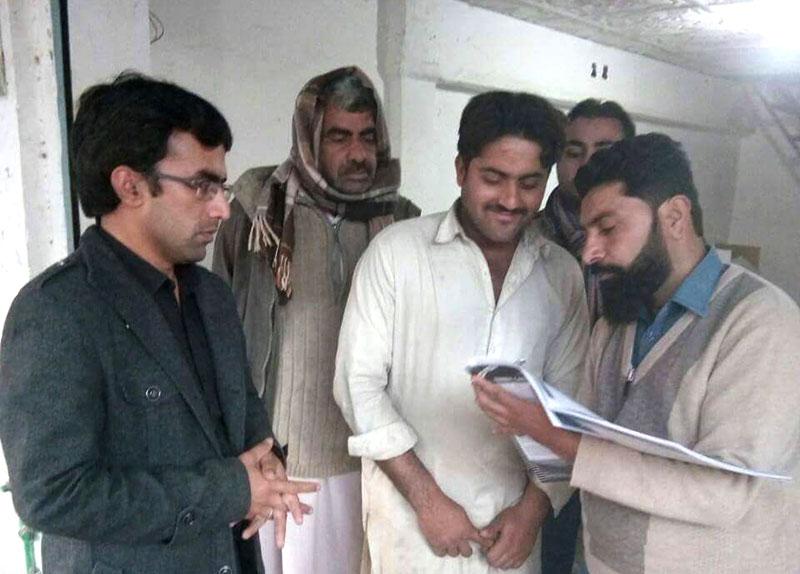 گوجرانوالہ میں ضرب امن دستخطی مہم کا آغاز
