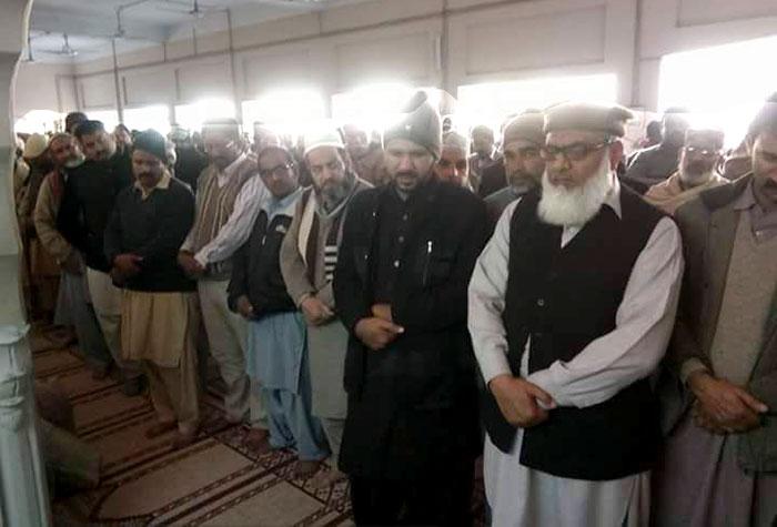 صدر یوتھ ونگ حافظ آباد  کے والد محترم کے انتقال پر تعزیت