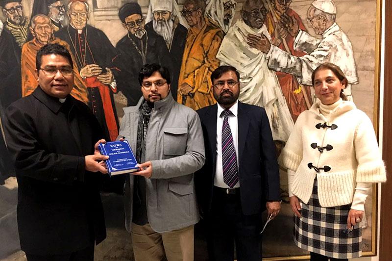 ڈاکٹر حسین محی الدین قادری کا ویٹی کن سٹی کا دورہ