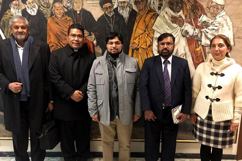 Dr Hussain Mohi-ud-Din Qadri visits Vatican City