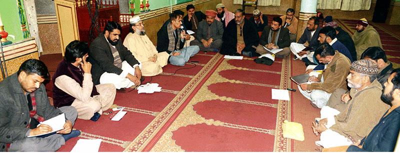 تحریک منہاج القرآن فیصل آباد کا اجلاس