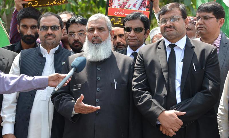 شہداء کے ورثا انصاف کے منتظر ہیں، ذمہ دار سزا سے نہیں بچ سکیں گے، وکلاء عوامی تحریک