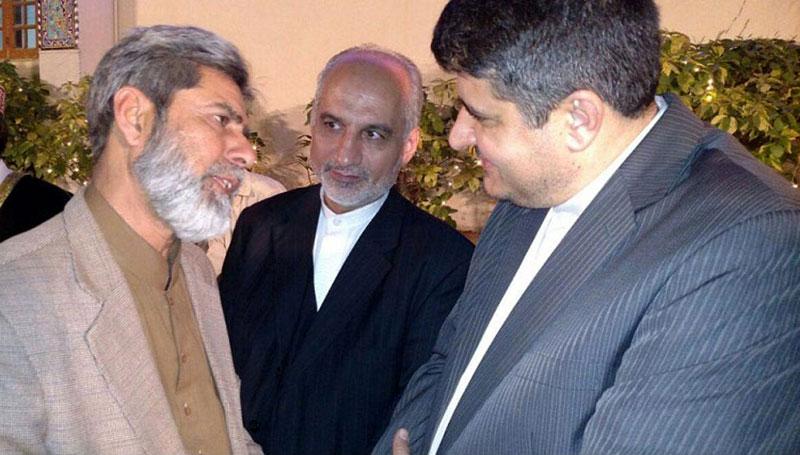 عوامی تحریک کراچی کے وفد کی ایرانی سفیر سے ملاقات