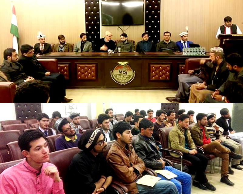 GB students meet Dr Hassan Mohi-ud-Din Qadri