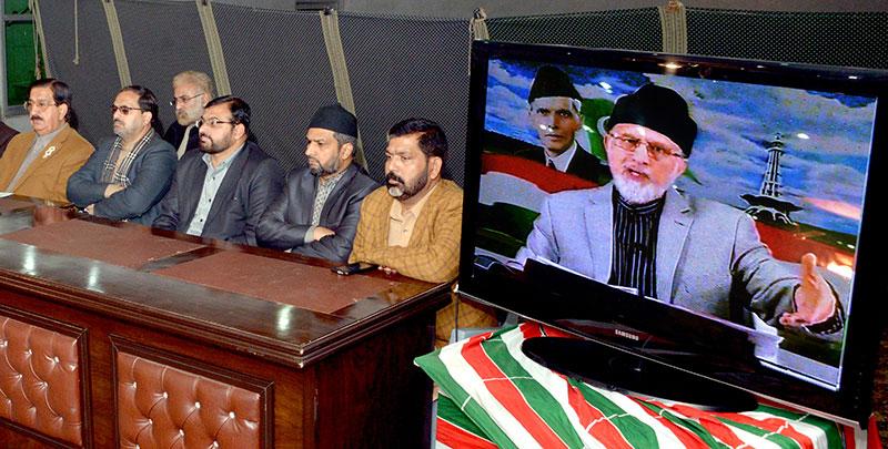 انسداد دہشتگردی کی عدالت کے فیصلے کو لاہور ہائیکورٹ میں چیلنج کرینگے: ڈاکٹر طاہرالقادری