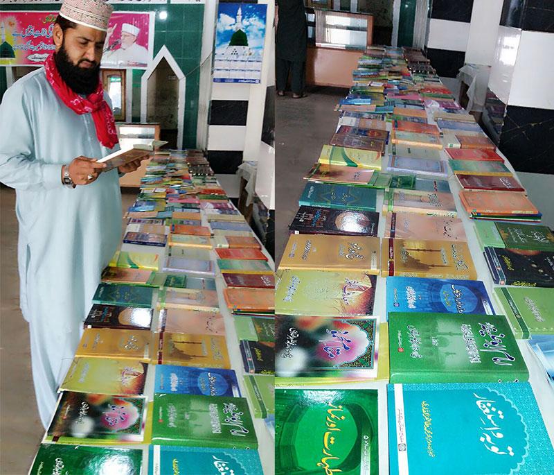 قائد ڈے، جھنگ میں شیخ الاسلام کی کتب کی نمائش شروع