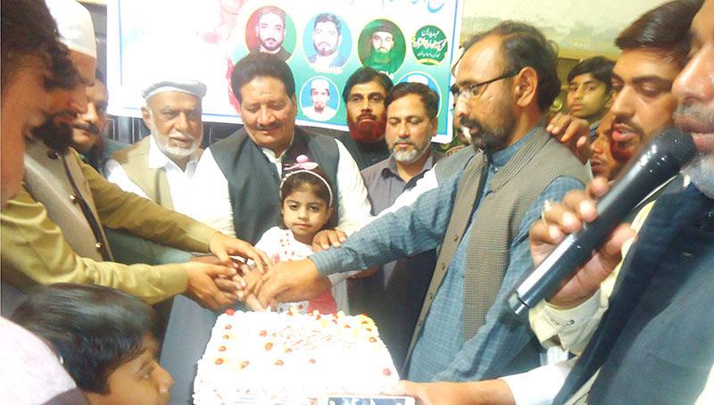 ملتان: ڈاکٹر طاہرالقادری کے 66ویں یوم پیدائش پر تقریب