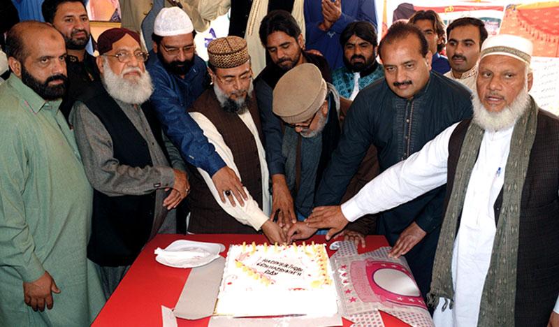 فیصل آباد: قائد ڈے پر سفیر امن سیمینار