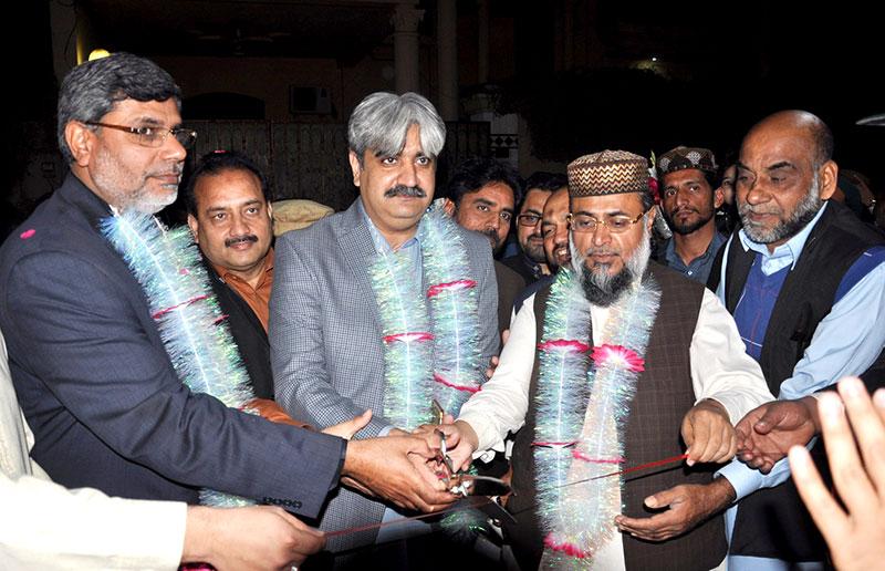 فیصل آباد: قائد ڈے سیمینار ''علم و عرفان کا پیکر ہے ہمارا قائد''