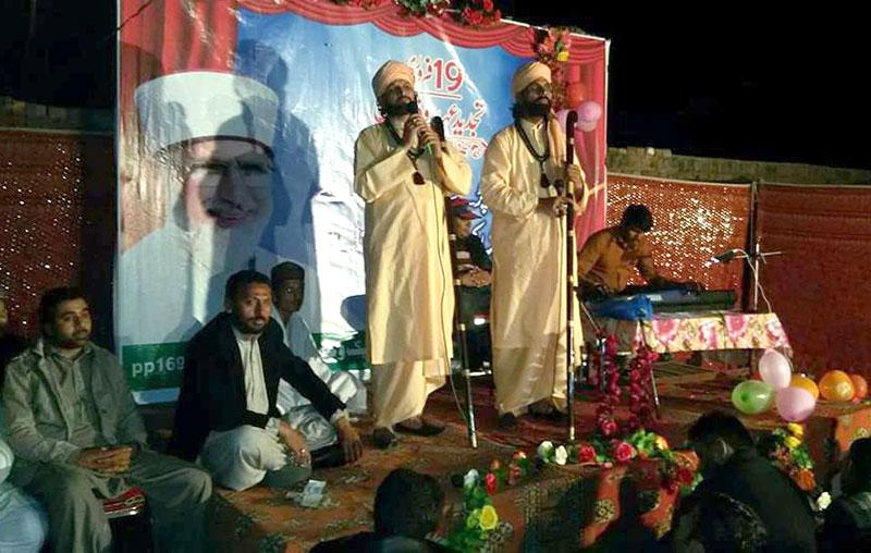 شیخوپورہ: قائد ڈے پر ''صوفی نائٹ''