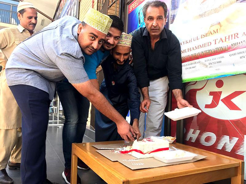 جنوبی افریقہ: ڈاکٹر طاہرالقادری کی سالگرہ تقریب