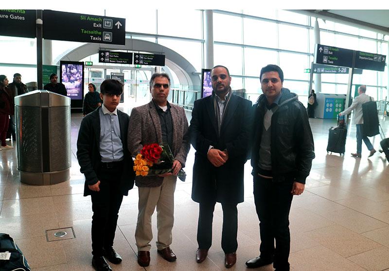 منہاج القرآن انٹرنیشنل برطانیہ کے صدر کی آئرلینڈ آمد