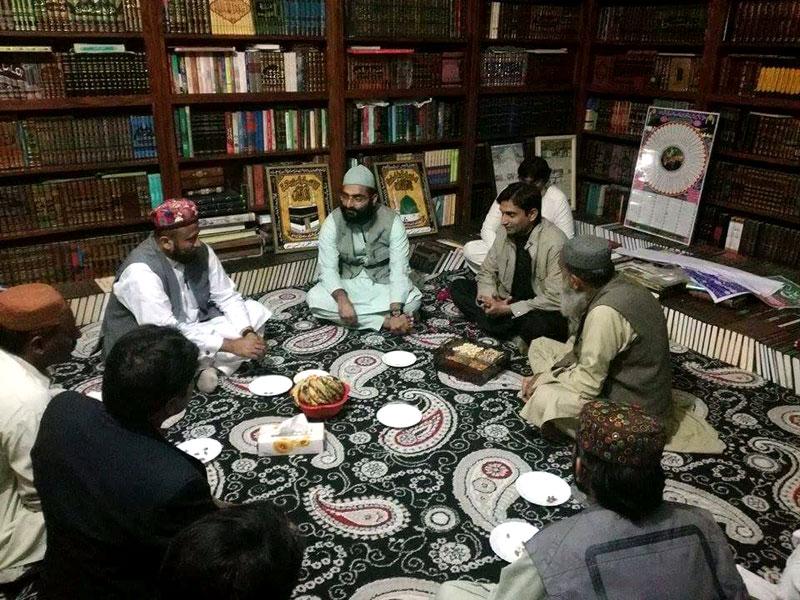 امیر تحریک منہاج القرآن اپر سندھ کی صاحبزادہ میاں عبدالمالک سے ملاقات