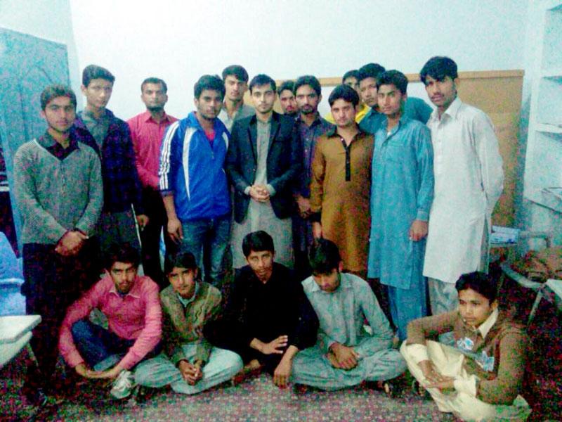 شیخوپورہ: گنجیانہ نو میں مصطفوی سٹوڈنٹس موومنٹ کا تنظیمی اجلاس