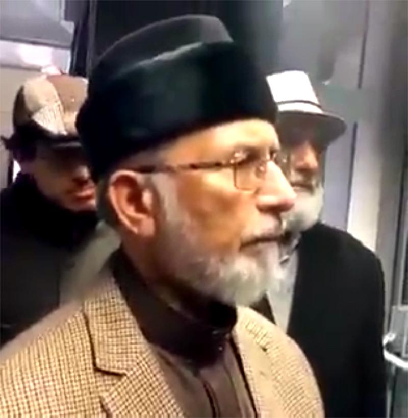 لندن: ڈاکٹر طاہرالقادری کی میڈیا سے گفتگو- 06 نومبر 2016